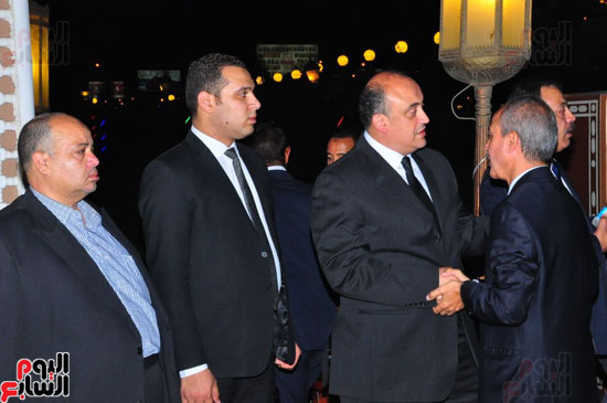عزاء والد عمرو وعلاء الكحكى (3)