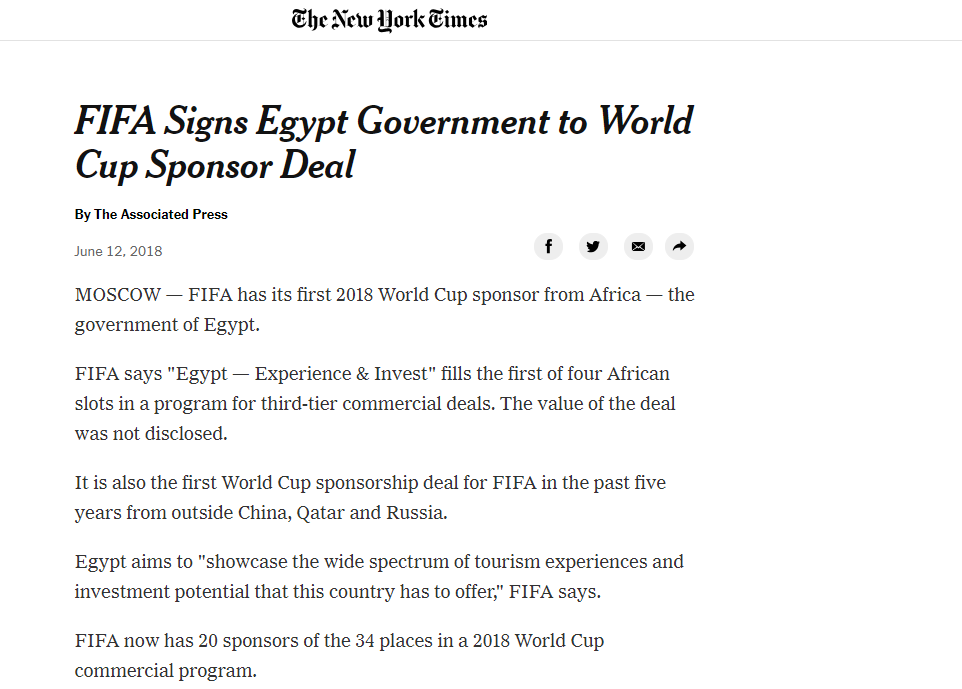 جانب من تقرير نيويورك تايمز