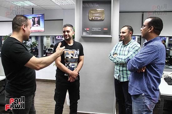 صور جولة وندوة هانى سلامة باليوم السابع (13)