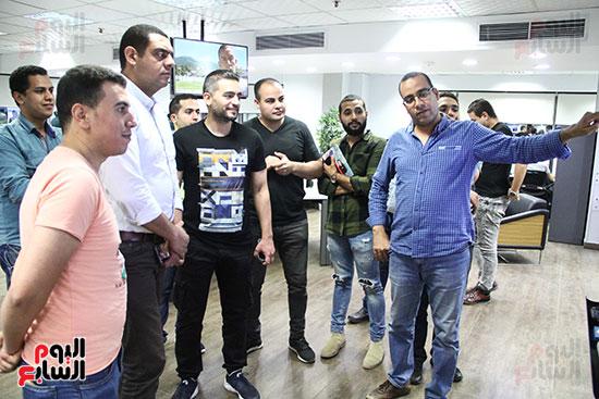 صور جولة وندوة هانى سلامة باليوم السابع (12)