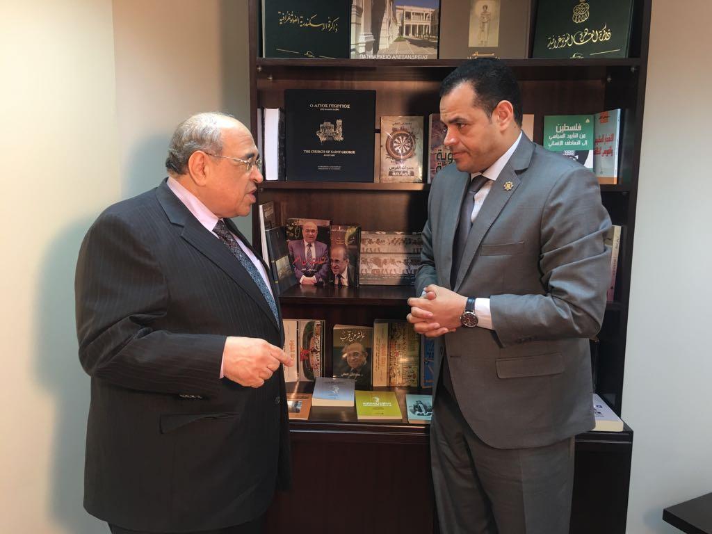 حوار أخبار مصر مع مصطفى الفقى  (1)