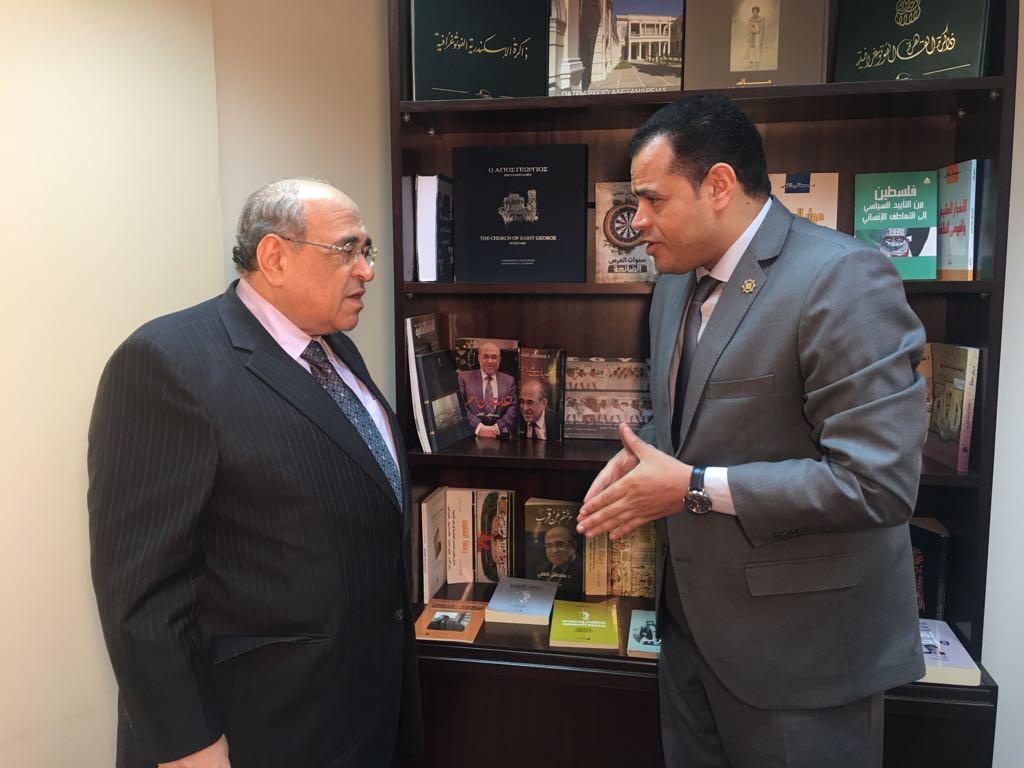 حوار أخبار مصر مع مصطفى الفقى  (2)
