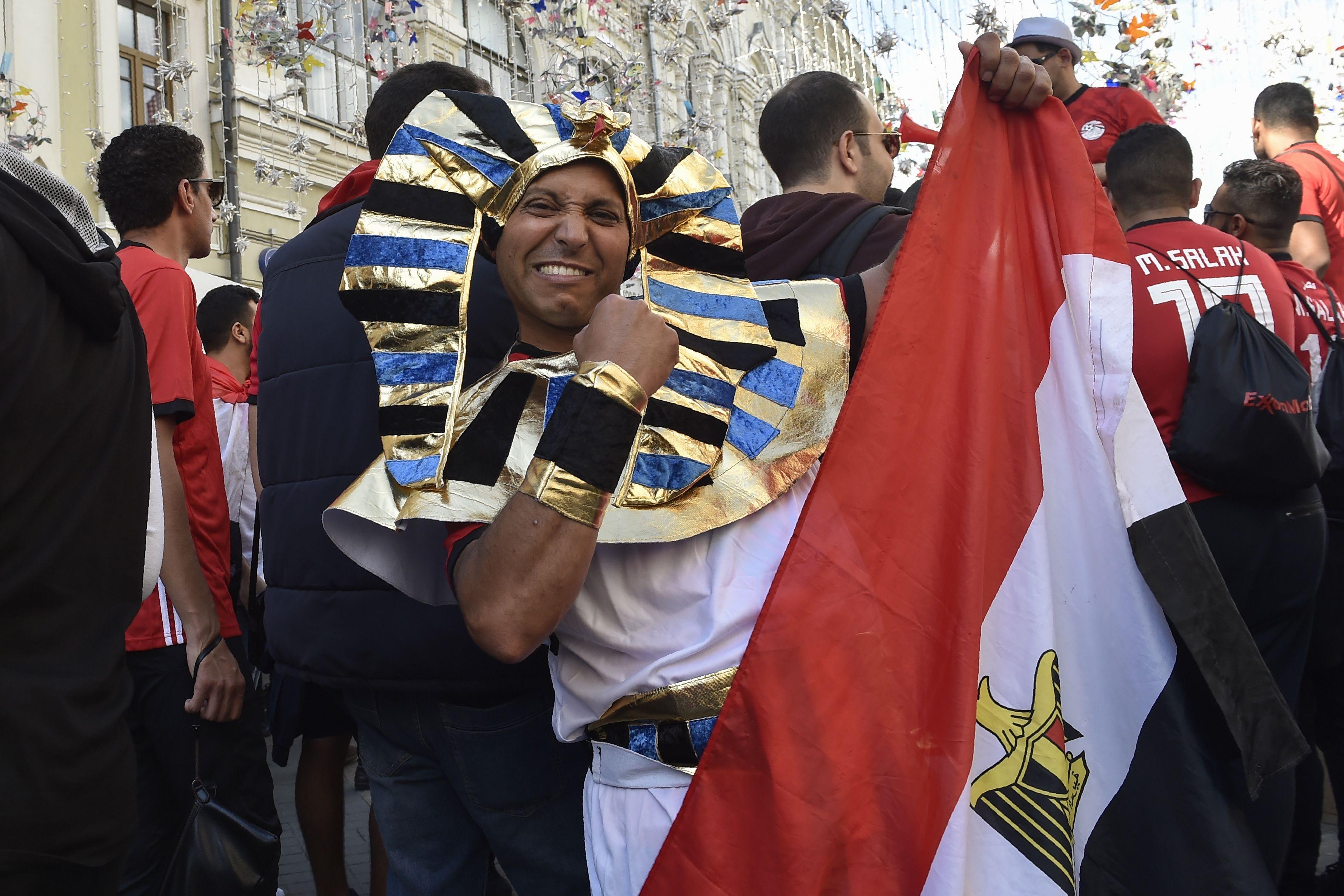 الجماهير المصرية في روسيا
