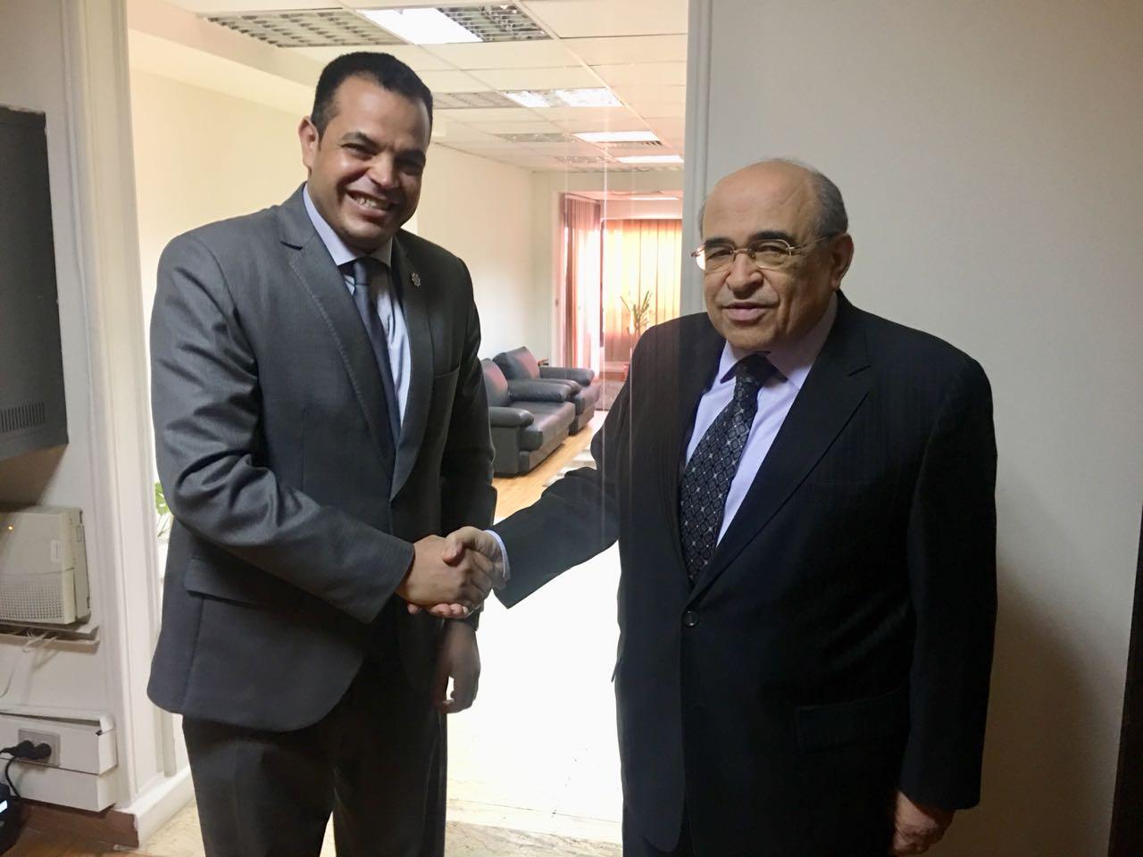 حوار أخبار مصر مع مصطفى الفقى  (4)