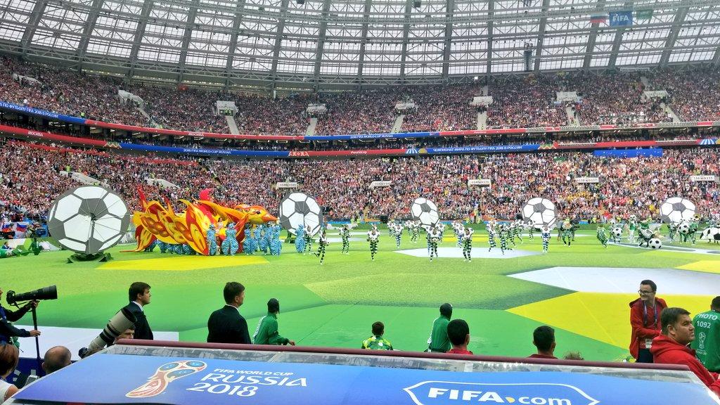 حفل افتتاح كاس العالم (4)