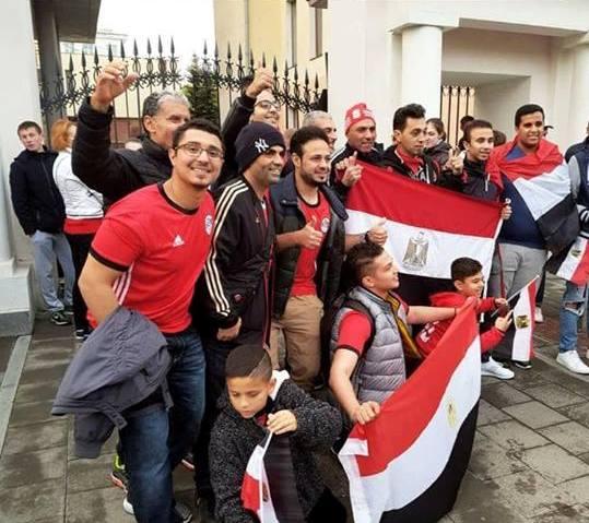 المصريين فى ورسيا