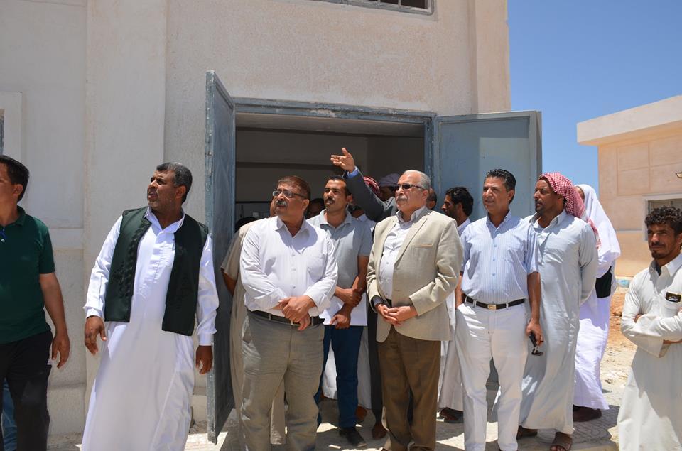رئيس شركة مياه مطروح يفتتح محطة تحلية (3)