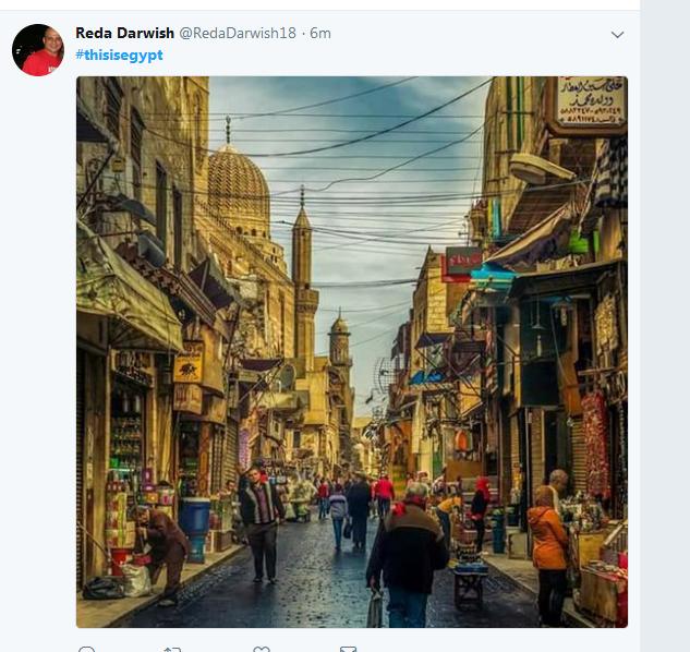 معالم مصر السياحية بعيون مغردى تويتر عبر هاشتاج this is Egypt  (3)