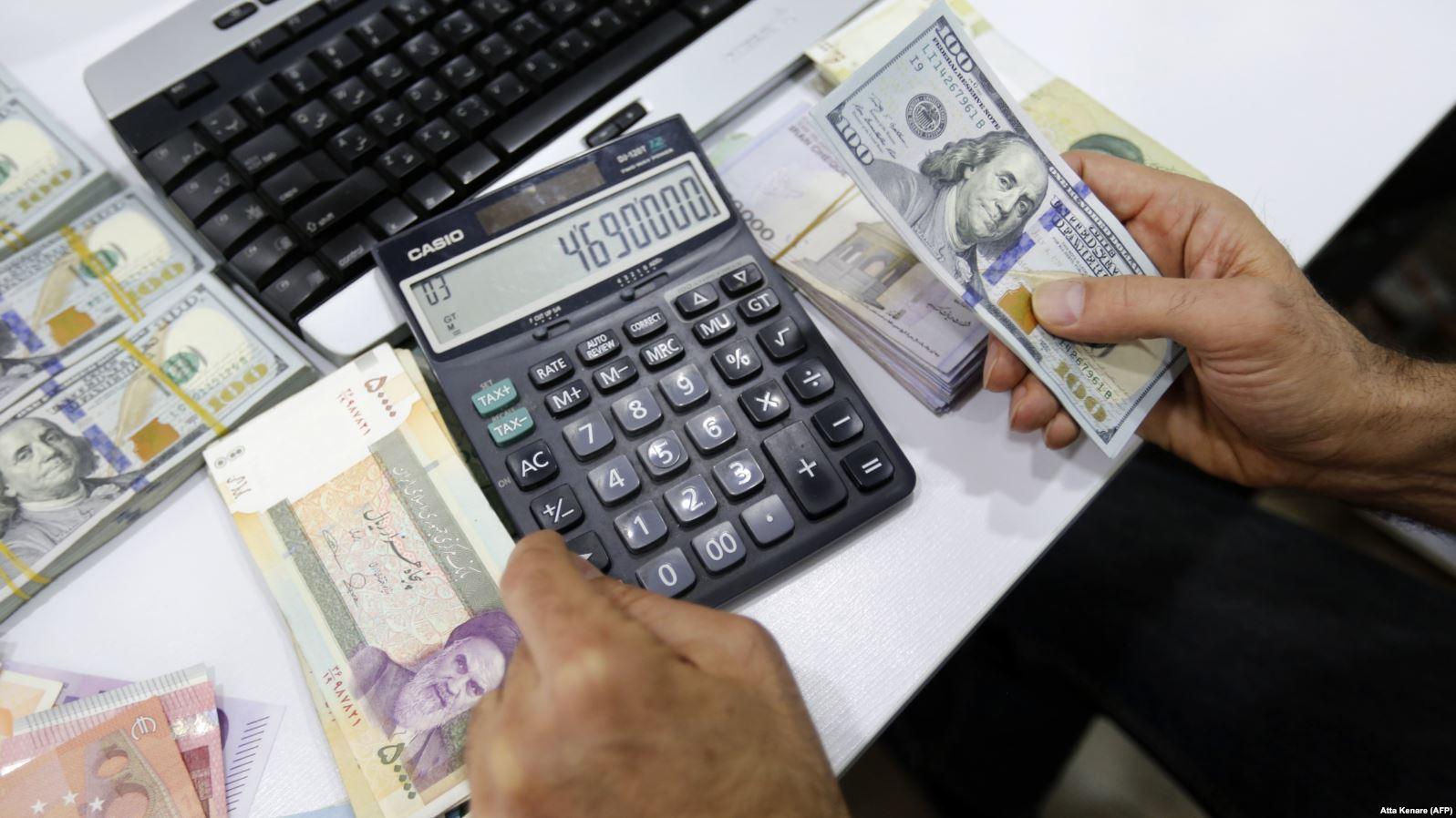 سوق العملة فى إيران