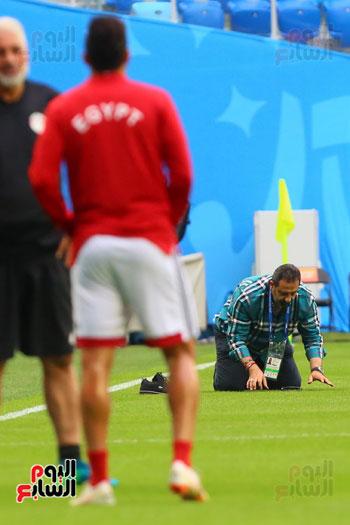 تدريبات منتخب مصر كاس العالم (29)