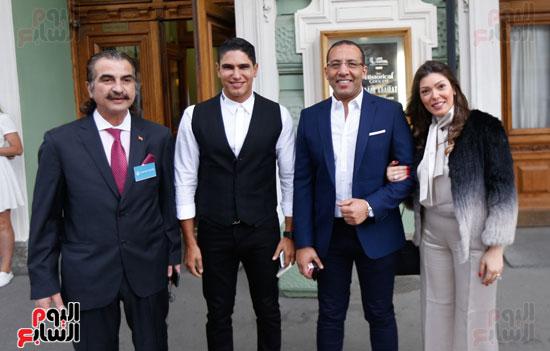 خالد صلاح وشيريهان أبو الحسن وأحمد أبو هشيمة وعصام شلتوت