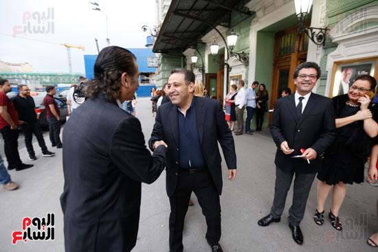 عصام شلتوت والمخرج عمرو عرفة