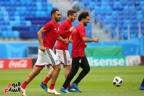 تدريبات منتخب مصر كاس العالم (3)