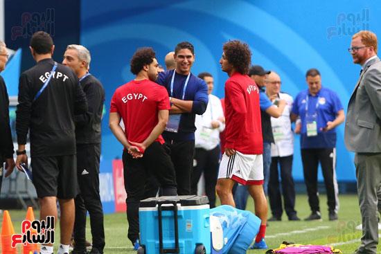 تدريبات منتخب مصر كاس العالم (25)