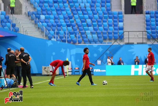 تدريبات منتخب مصر كاس العالم (20)