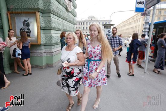 حفل عمر خيرت فى روسيا (7)