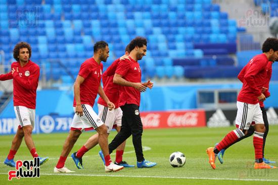 تدريبات منتخب مصر كاس العالم (4)