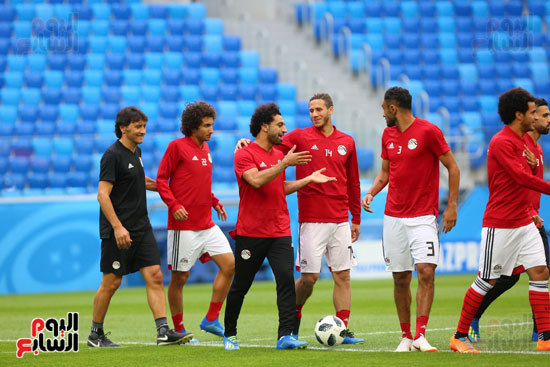 تدريبات منتخب مصر كاس العالم (5)