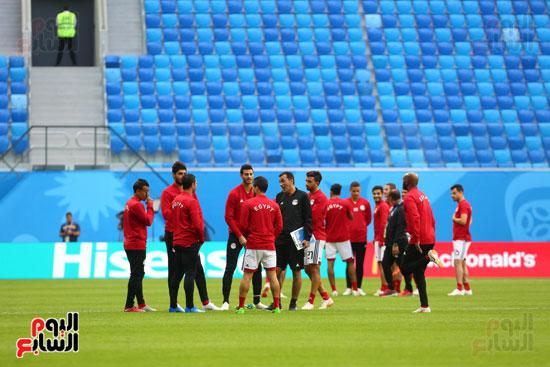 تدريبات منتخب مصر كاس العالم (24)