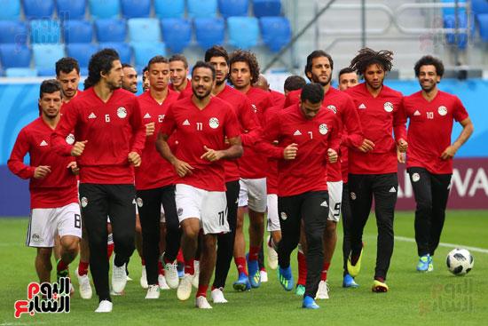 تدريبات منتخب مصر كاس العالم (1)