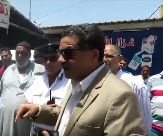 مدير أمن الإسماعيلية يتفقد مواقف السيارات