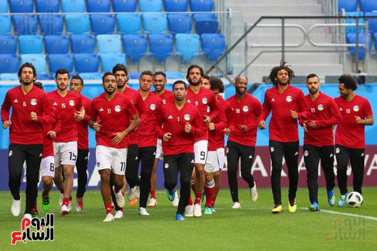 تدريبات منتخب مصر كاس العالم (2)