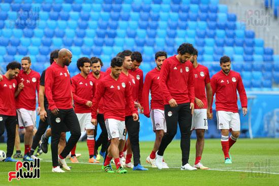 تدريبات منتخب مصر كاس العالم (7)
