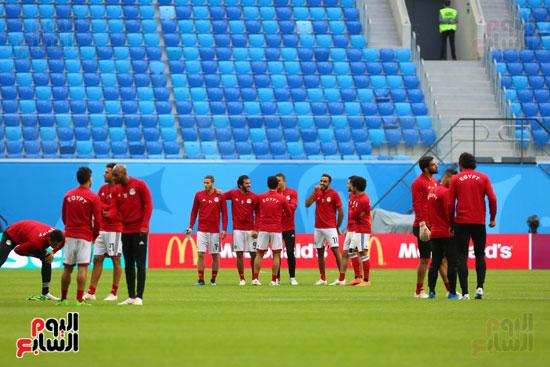 تدريبات منتخب مصر كاس العالم (21)