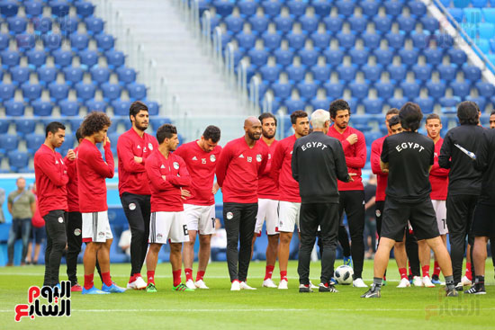 تدريبات منتخب مصر كاس العالم (14)