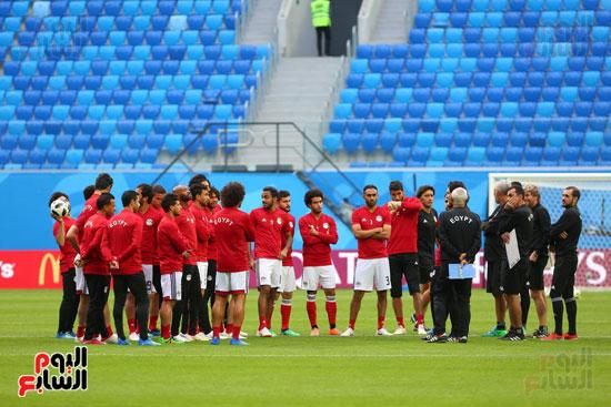 تدريبات منتخب مصر كاس العالم (18)