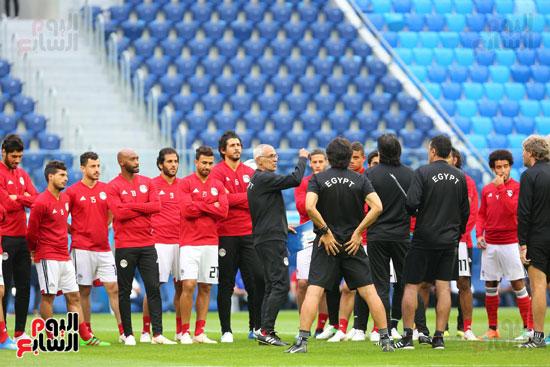 تدريبات منتخب مصر كاس العالم (9)