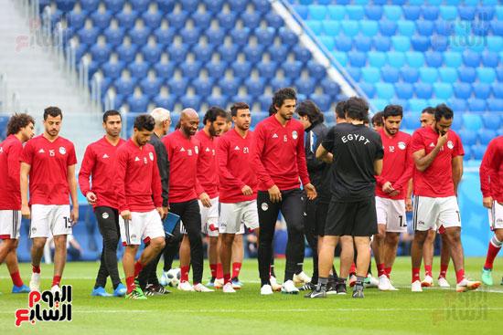 تدريبات منتخب مصر كاس العالم (8)