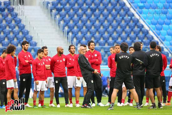 تدريبات منتخب مصر كاس العالم (12)
