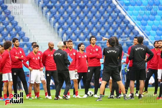 تدريبات منتخب مصر كاس العالم (13)