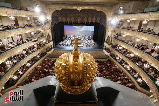 المسرح التاريخى مارينسكى الروسى