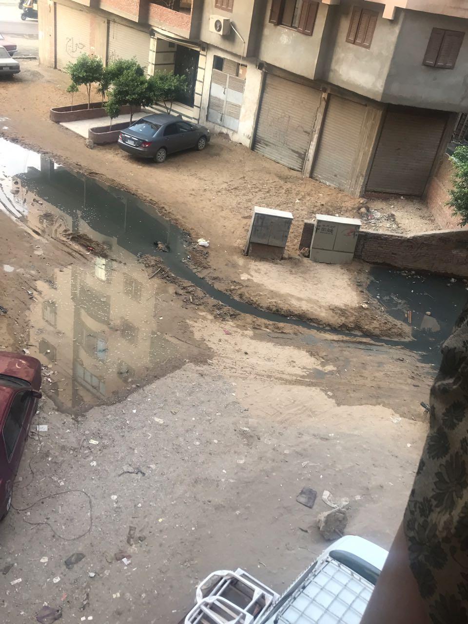 مياه الصرف بشارع سليم الزقلة  (4)