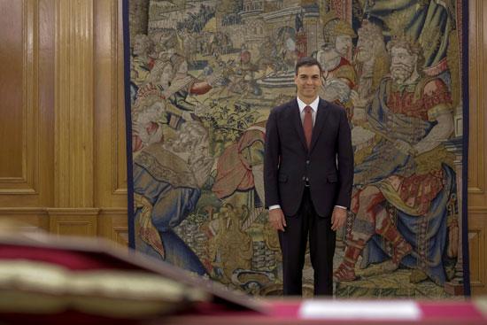رئيس وزراء إسبانيا الجديد بيدرو سانشيز