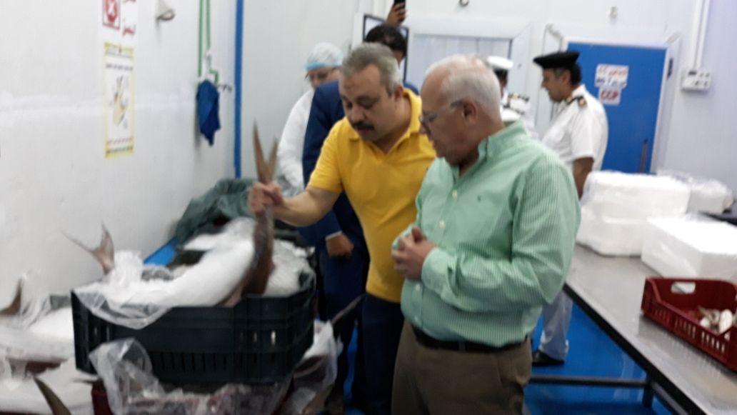 محافظ بورسعيد يتفقد المنطقة الصناعية لمتابعة المشروعات (10)