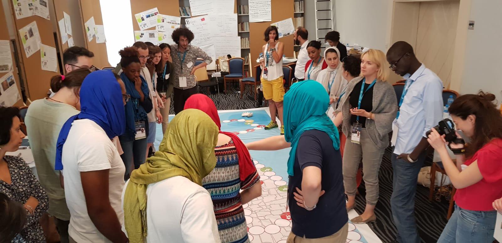 منتدى الخبراء الشباب يناقش تغيرات المناخ وأثرها على التراث العالمى  (2)