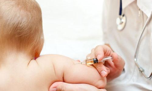 تطعيم أطفال