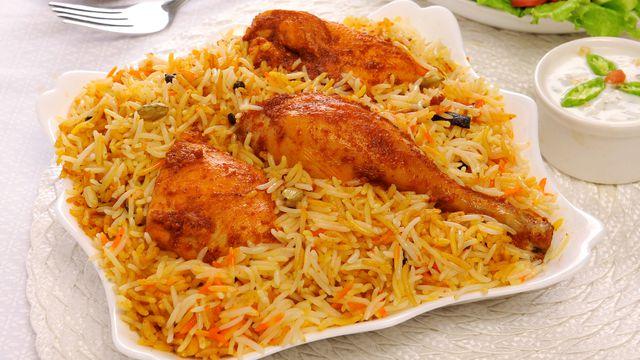 فتة الفراخ والأرز البسمتى2