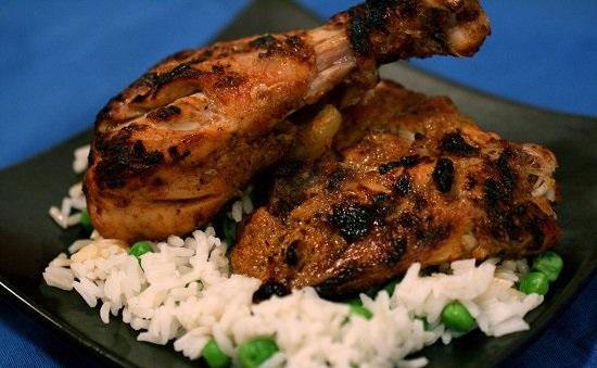 فتة الفراخ والأرز البسمتى1