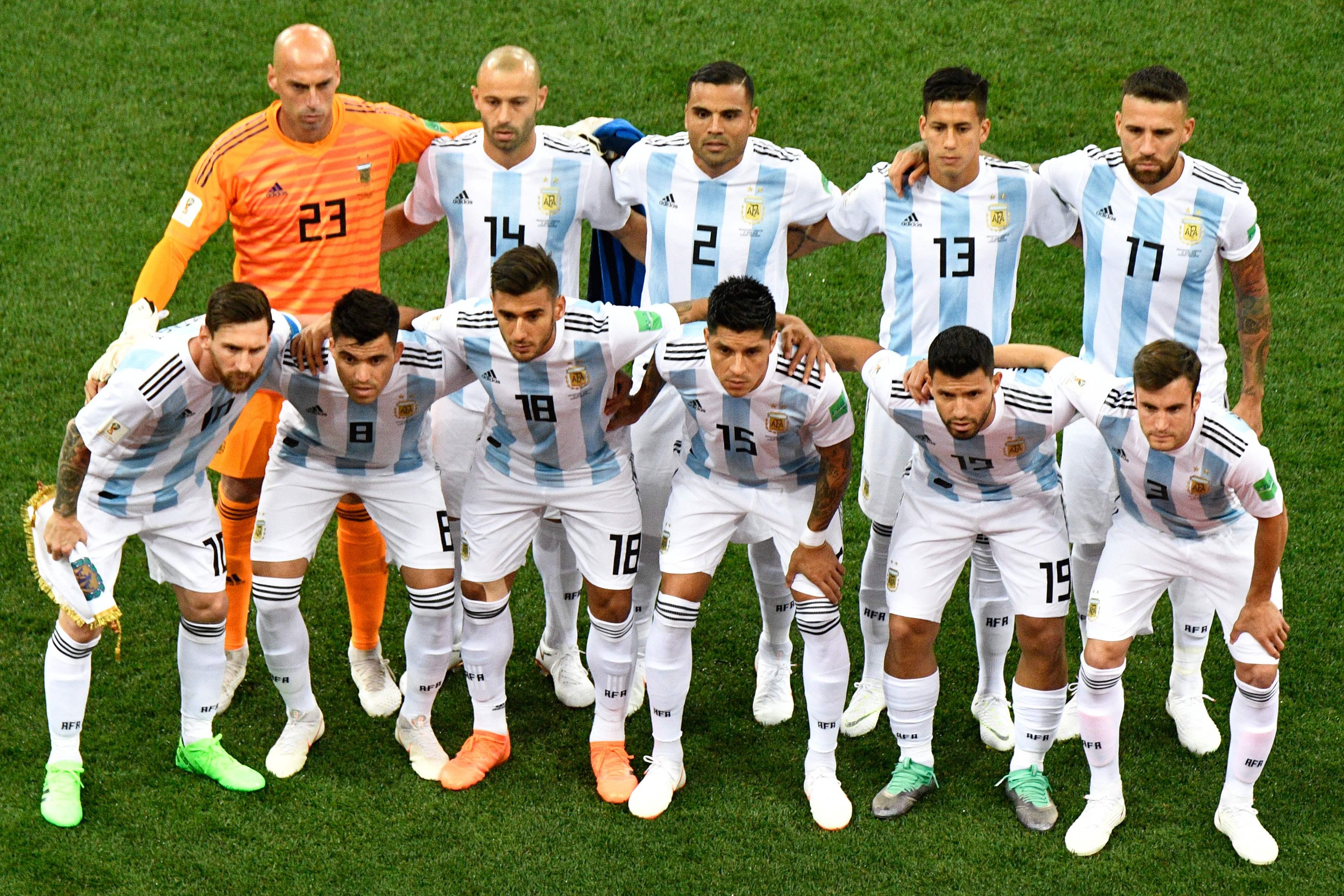 التعادل السلبى يسيطر على أول 25 دقيقة من مباراة الأرجنتين ...