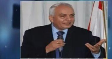 الدكتور رضا حجازى رئيس امتحانات الثانوية العامة