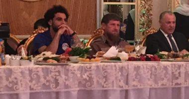 الرئيس الشيشانى يقيم مأدبة عشاء لبعثة المنتخب