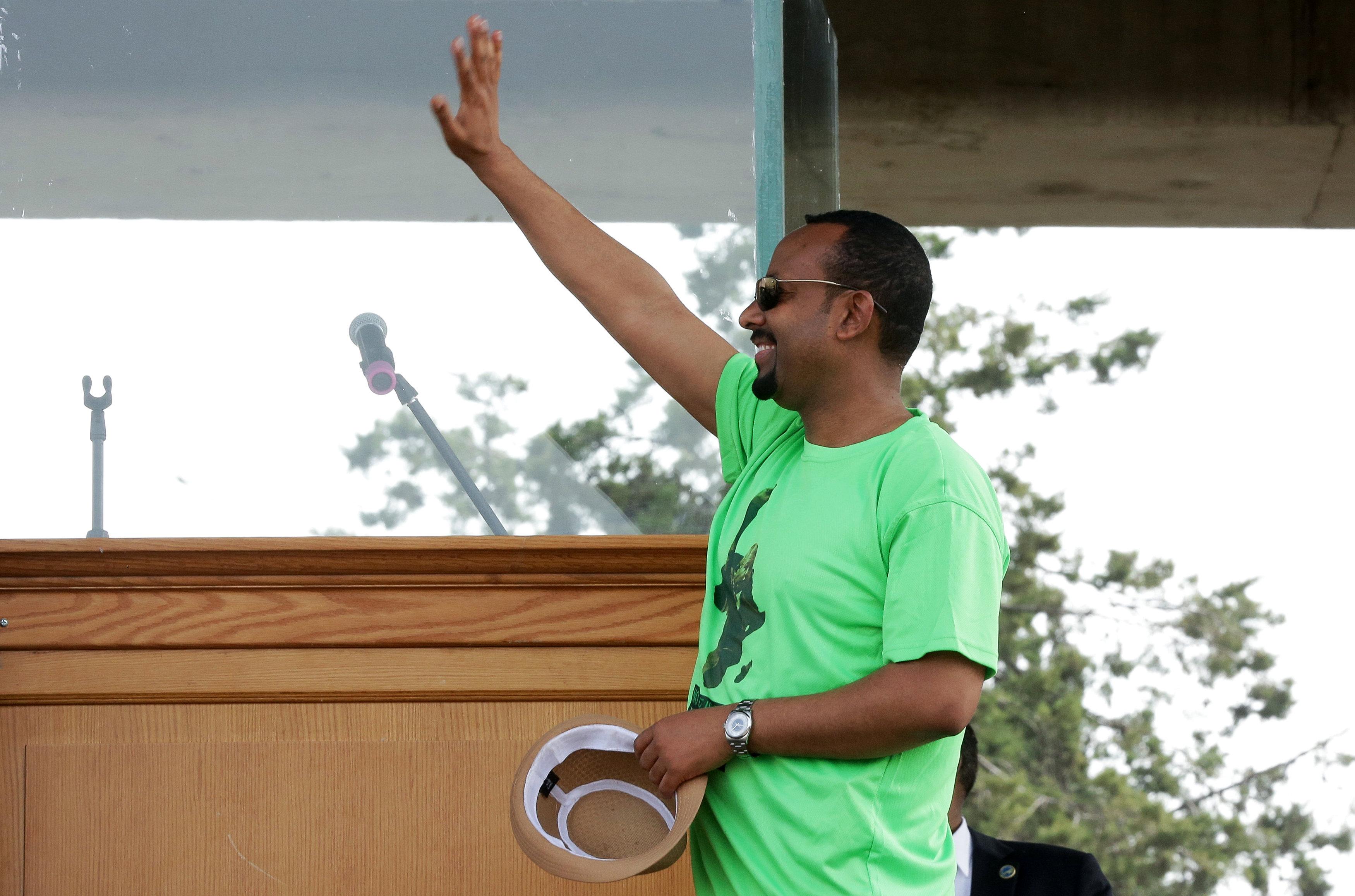 وصول رئيس الوزراء الإثيوبى