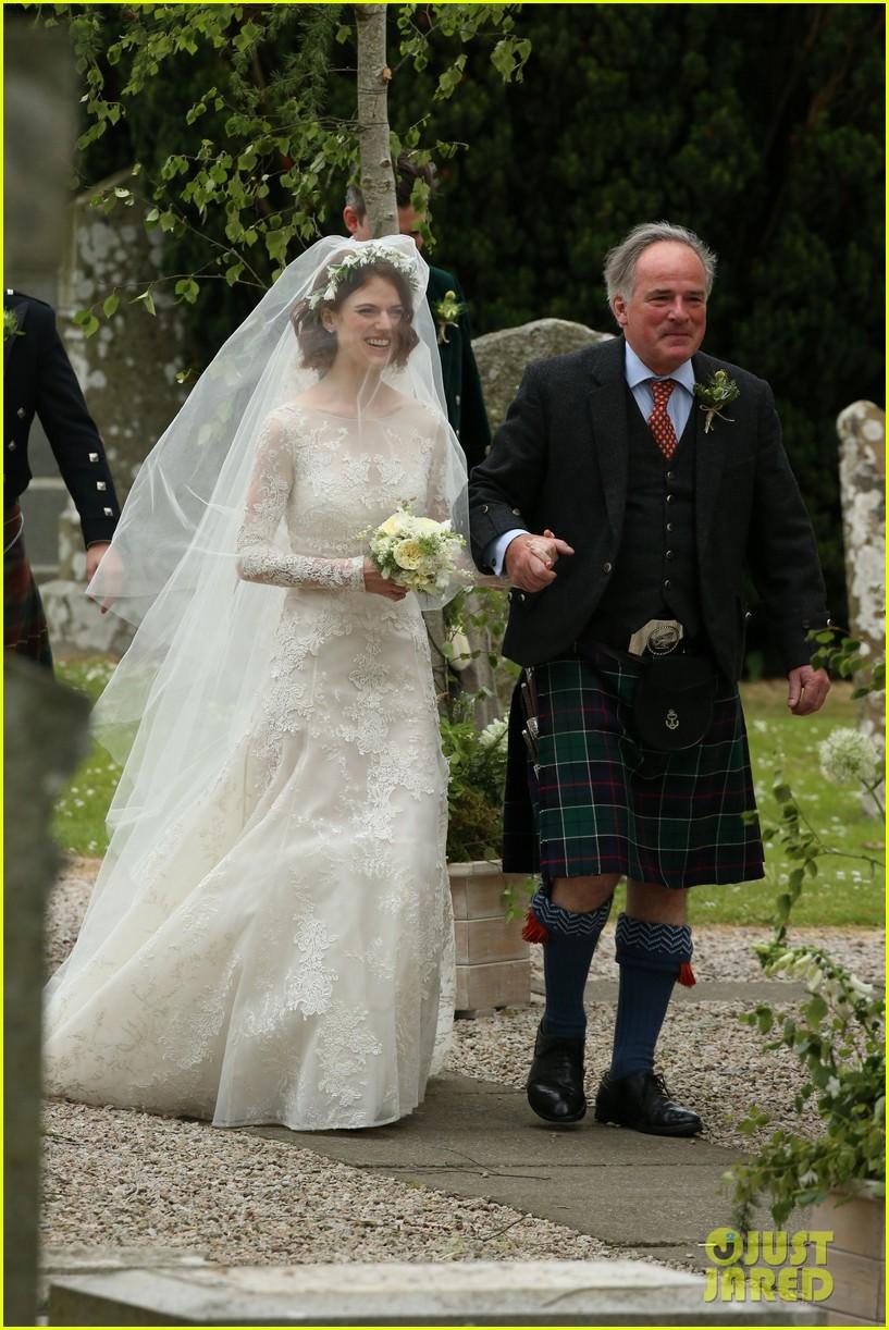 العروس روز من مراسم الزفاف