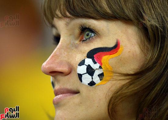 مشجعة ألمانية