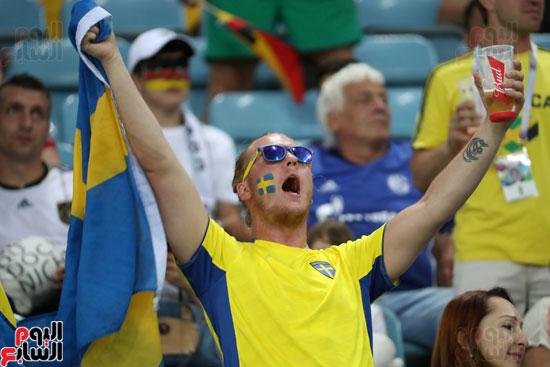 مشجع سويدى