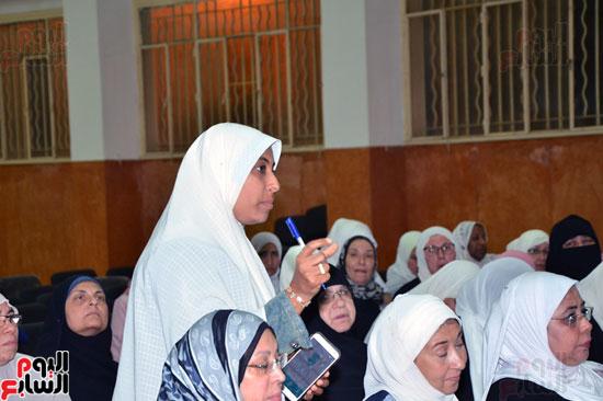 الأوقاف تطلق مشروع مربيات الأطفال (18)